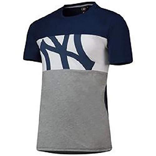 Majestic Camiseta MLB Cut and Sew New York Yankees Azul S (Small)