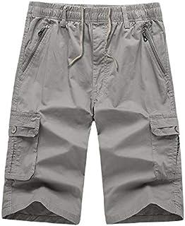 6b9ca1f3533b GNYD Pants Uomo Sport Streetwear Corti Cargo Pantaloni Jogging Stretti  Jeans Estivi Casual in Cotone Mo