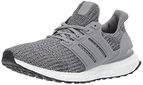 adidas Men's Ultraboost, Grey/Grey/Black, 5 M US