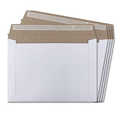 厚紙封筒 マチ折線付き ネコポスサイズ B5 軽量タイプ 310×220mm レターケース 開封ジッパー 両面テープ付き (100枚セット)