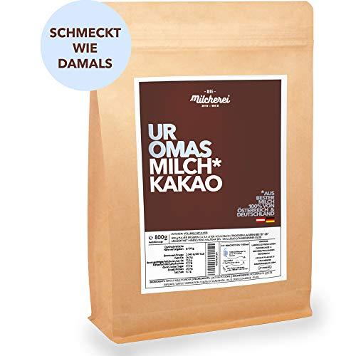 Kakao-Milch-Pulver MILCHEREI 800g Traditionelle Heiße-Trink-Schokolade mit regionalem Milch-Pulver