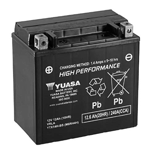 Yuasa 212726 Batería de repuesto YTX14H-BS 12V