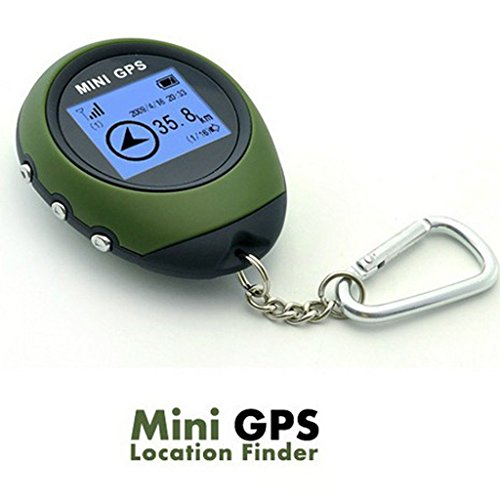 Outdoor mini Handheld GPS Navigation location Finder display a matrice di punti per...