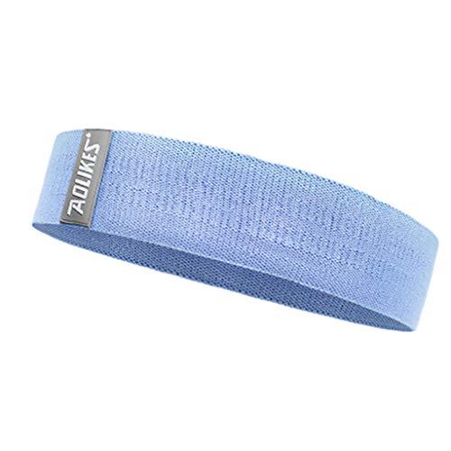 Momoxi Hip Lift Fitness Kniebeugen Widerstand Ring Yoga Stretch Band blau M 2020 Fitness Für Zuhause, Gesund Widerstandsband Heimtrainer Fitnessgeräte Krafttrainer Rudergerät Stepper