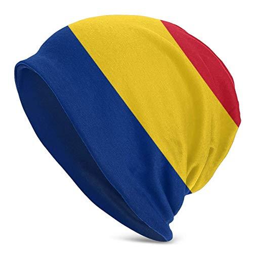 Gorros de Punto para Hombre y Mujer Sombreros Bandera de Rumania Gorros de Invierno clidos para Adultos