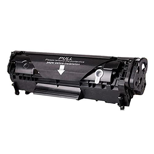 LJKD Impresora Compatible 2612a Cartucho de tóner M1005 m1319 1010 M1319 12A fácil de Agregar Polvo