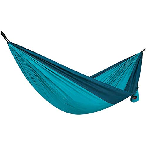 HUALI Hammock Outdoor Portable 2.9 X 1.8M Load 180Kg Anti-Roll Single Double Hanging Chair Ice Silk Swing Adult LIULI