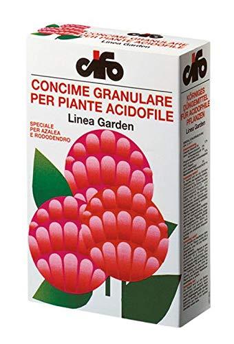 CIFO concime per piante Acidofile, 1 kg, fioriture rigogliose e durature, ideale per azalee, rododendri, camelie, ciclamini