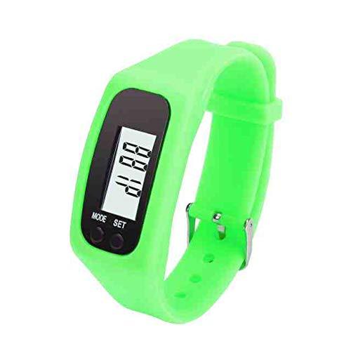 WDQTDY Hot Verkopen Nieuwste relogio Feminino Digitale Klok Digitale LCD-stappenteller Run Stap Wandelen Afstand Calorie Counter Horloge Armband zoals het beeld laat zien
