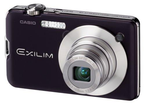 Casio EXILIM EX-S10 BK Digitalkamera (10 Megapixel, 3-Fach Opt. Zoom, 6,9 cm (2,7 Zoll) Display) schwarz