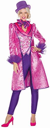 Damen Kostüm Mantel Brokat Paisley Karneval Fasching Gr. 50/52