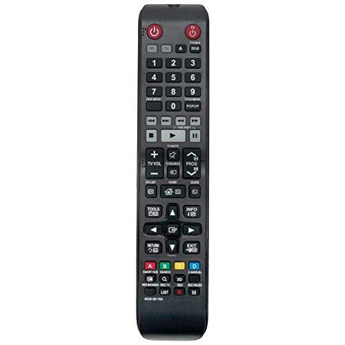 VINABTY AK59-00176A Ersatzfernbedienung für Samsung TV Blu-ray Heimkinosystem BD-H8900M BDH8900M BD-H8500M BD-H8500N Bd-h8500 BD-H8900 BD-H8909S BD-H8500A BD-H8900A