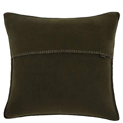 Soft-fleece kussensloop – polarfleece met gehaakte steek – zachte, hoogwaardige sofa-kussenhoes.