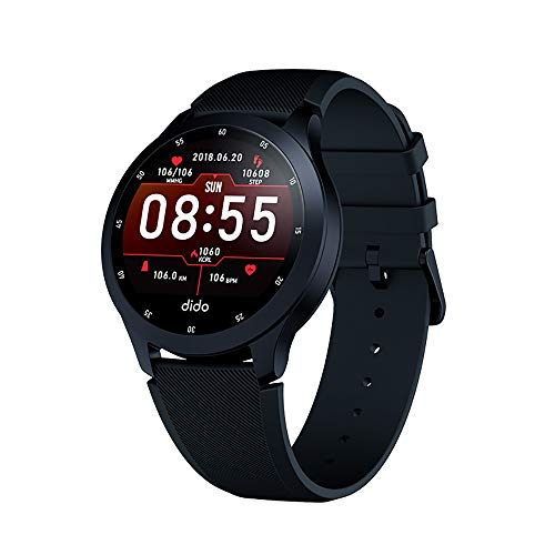 YHML Smart Sports Watch Bracelet 1.3 inch Outdoor Sports Multi-Function Step Running Sports Waterproof Heart Rate Bracelet Support Android/iOS Adjust The Rules of Life Best Gift