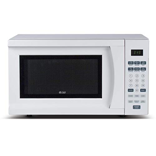 Commercial Chef CHM770W, WHITE CHM770 0.7 CU. FT. 700W COUNTER TOP MICROWAVE, 7 Cubic feet