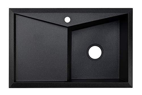 Black Sink Lavello Diamond 100LT 32