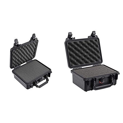 Pelican 1200 Case With Foam (Black) & 1120 Case With Foam (Black)