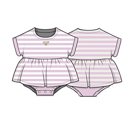 Steiff Baby-Mädchen Formender Body, Violett (Pastel Lilac 7008), 68