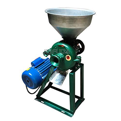 MEIGONGJU Wet and Dry Comercial Granos alimenticios Grinder pequeño Polvo Fino de Molino de molienda de Grano Entero máquina de trituración trituradora de alimentación de la máquina
