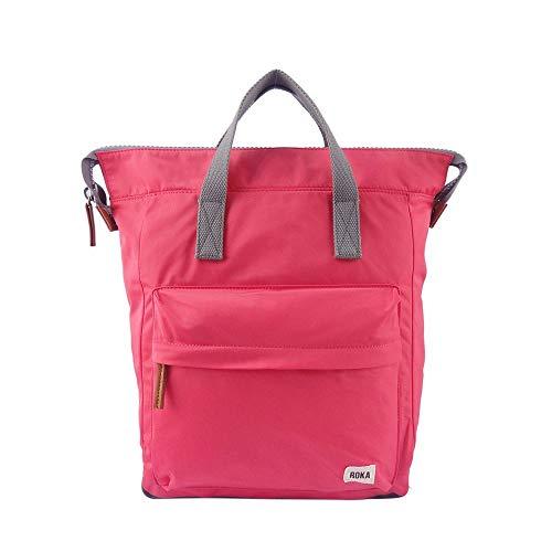 Roka - Bolso mochila para mujer Rojo Frambuesa S