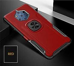 جرابات مناسبة - لهاتف 9 جراب PureView ممتص للصدمات لهاتف 8 9 جراب شفاف من السيليكون الناعم + جراب صلب من البولي كربونات وحامل السيارة For Nokia 9 PureView WHRS-33026043869-007
