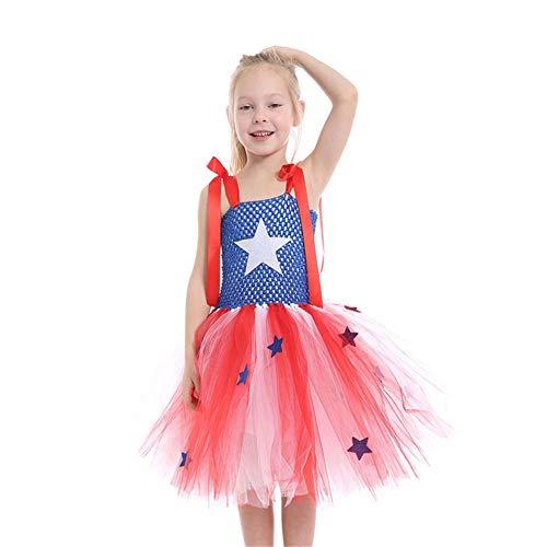 QWG Vestido de Princesa Disfraz de Cosplay de Halloween Ropa de actuacin para nios Disfraz de Anime Vestido de tut para nios Beb