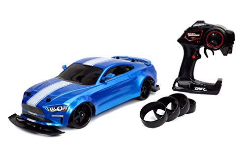 Jada Toys Fast & Furious RC Drift Jakob's Ford Mustang GT - Coche teledirigido (Control...