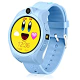 Kids Smart Phone Watch,GPS Tracker Watch for Kids,Geak Watch with Touchscreen,SIM Card Slot,Perfect