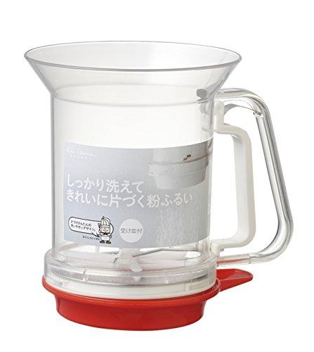 貝印KAI粉ふるいKaiHouseSelect洗える受け皿付日本製DL6261