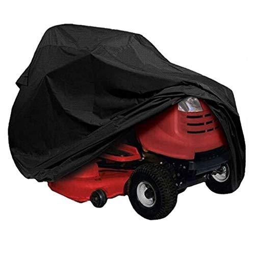 BGSFF Cubierta para Tractor cortacésped, Cubierta para Tractor de césped, Cubierta Impermeable para cortadora de césped Resistente, Protector de Remolque para Tractor de jardín a Prueba