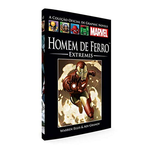 Graphic Novels Marvel Ed. 43 Homem De Ferro - Extremis