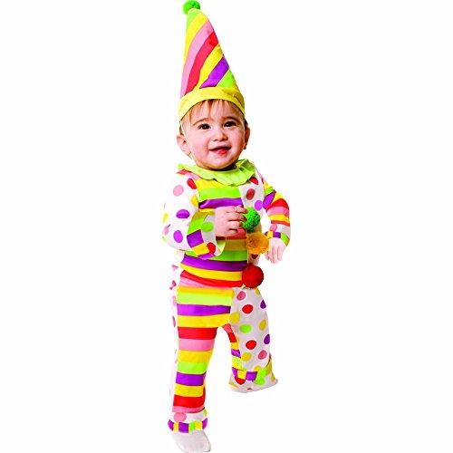 Dress Up America Doux Dots N'Stripes Costume pitre infantile , taille 12-24 mois (poids- 10-13 , 5 kg , hauteur- 74-86 cm) , Comme la Présentation