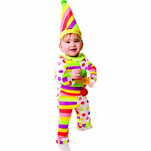 Dress Up America Costume de clown infantile Sweet Dots N 'Stripes