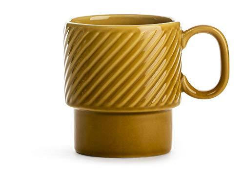 Sagaform 5017876 Kaffeebecher, Stein, 250 milliliters, gelb