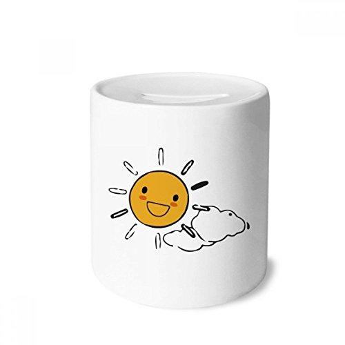 DIYthinker - Hucha de cerámica, diseño de nubes de sol