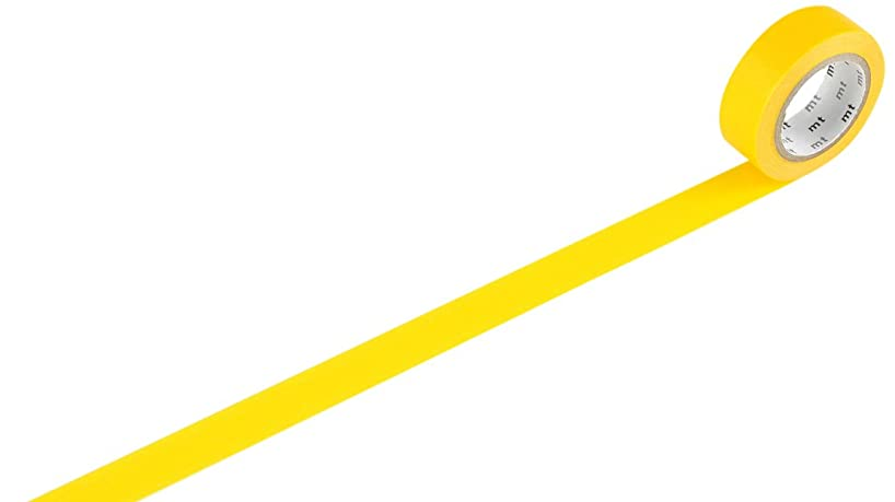 MT MT01P184Z mt Masking Tape Roll -, Yellow