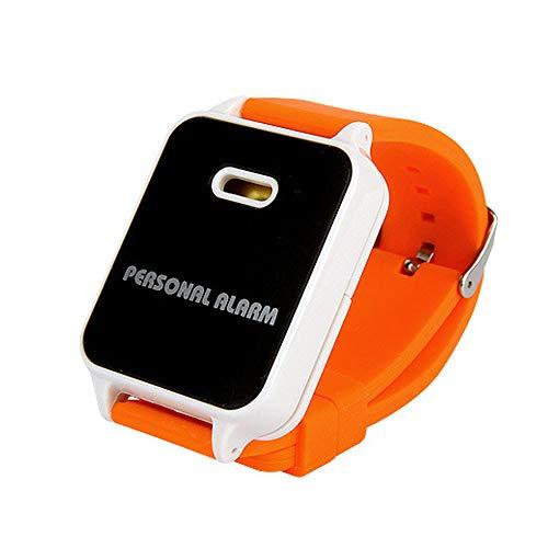 KCDE zelfverdediging persoonlijke verkrachting alarm anti-wolf apparaat outdoor sport veiligheid uitvoeren creatieve armband beschermer horloge type 120db