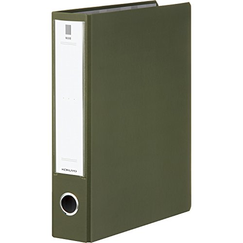 コクヨ ファイル チューブファイル NEOS A4 50mm 2穴 オリーブグリーン フ-NE650DG