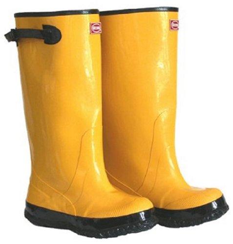 "BOSS 2KP448116 Rubber Boot, 17"" Size 16, Yellow"