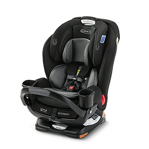 Graco Extend2Fit 3 in 1 Car Seat Featuring Anti-Rebound Bar |...