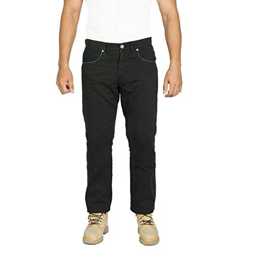 OneDayMore Aramid verstärkte Herren-Motarrad-Jeans. Kostenlose Protektoren enthalten. 8007, 32W x 30L