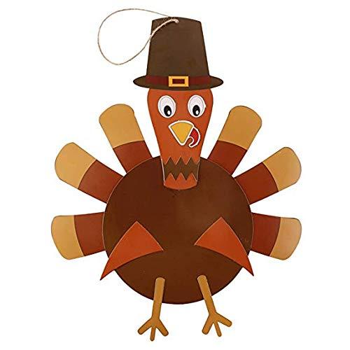 Udane Haushaltswaren Zubehör Kreative Thanksgiving DIY Türkei Handwerk Kit für Kinder Lernspielzeug Thanksgiving Dekorationen