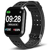 DoSmarter Smart Watch, Waterproof Fitness Tracker Watch with Heart Rate Monitor, Wearable Blood