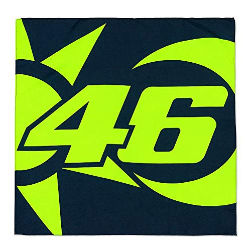 Valentino Rossi Vr46 Classic-Zubehör, Bandana Unisex Adult, Multicolor, Einheitsgrösse