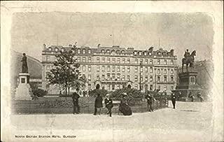 North British Station Hotel, Glasgow Glasgow, Scotland Original Vintage Postcard