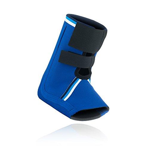 Rehband Bandage Sprunggelenkbandage Retro Neopren, Blau, S