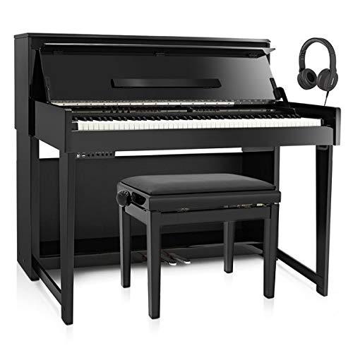 DP-90U Pianoforte Digitale Verticale di Gear4music + Pacchetto Accessori