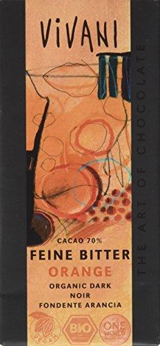 Vivani Bio Schokolade Feine Bitter Orange, 100 g