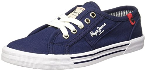 Pepe Jeans NEW PUTNEY Zapatillas para Mujer, color Marino 22