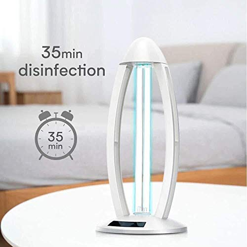 38W UVC Ozon Ultraviolet Kiemdodende Lamp Remote UV Sterilisatie Quartz Lights, Portable UV-Led Lamp for Auto huishouden Koelkast